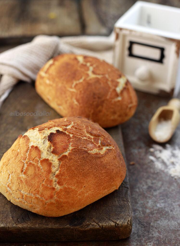 Tiger bread o Dutch crunch bread